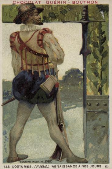 Military Costume, 1580--Giclee Print