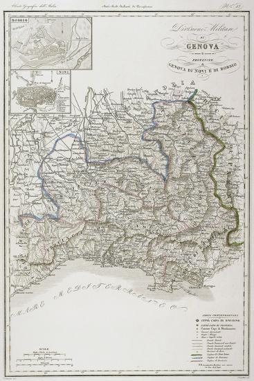 Military Division of Genoa--Giclee Print