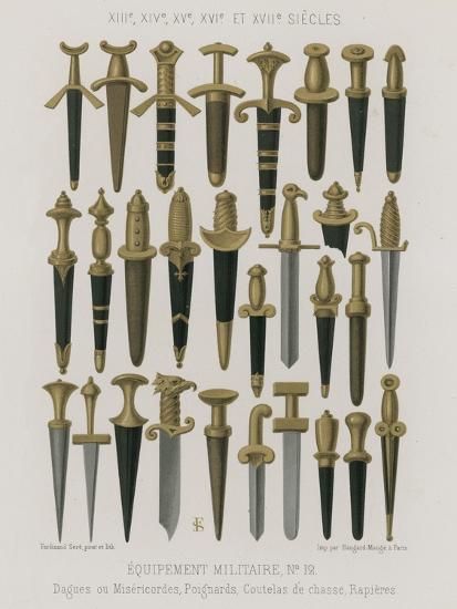 Military Equipment--Giclee Print