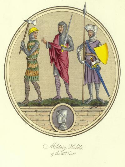 Military Habits of the 13th Century--Giclee Print