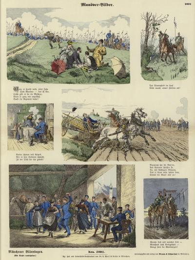 Military Manoeuvres--Giclee Print