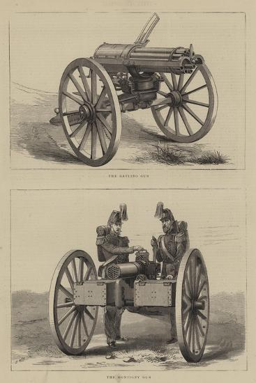 Military Weapons--Giclee Print