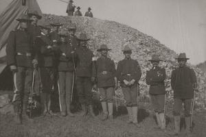 Militia At Cripple Creek, Colorado 1903