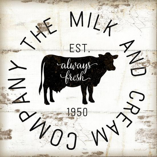 Milk and Cream Company-Jennifer Pugh-Art Print