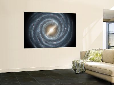 Milky Way Bar--Wall Mural