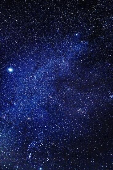 Milky Way Galaxy, Lapland, Sweden--Photographic Print