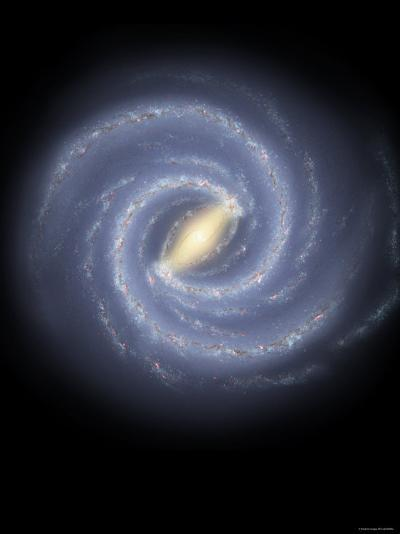 Milky Way Galaxy-Stocktrek Images-Photographic Print