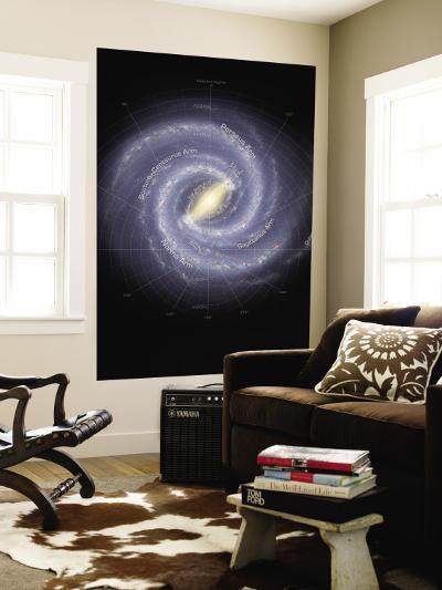 Milky Way Galaxy--Wall Mural