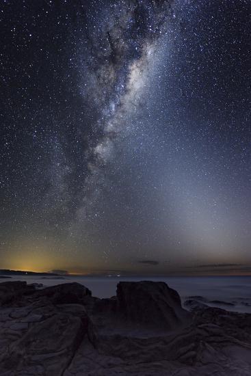Milky Way Over Cape Otway, Australia-Alex Cherney-Photographic Print