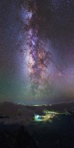 Milky Way over La Palma