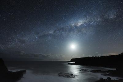 Milky Way Over Mornington Peninsula-Alex Cherney-Photographic Print