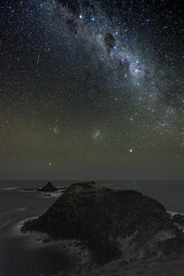 Milky Way Over Phillip Island, Australia-Alex Cherney-Photographic Print
