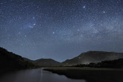 Milky Way Over Wilsons Promontory-Alex Cherney-Photographic Print