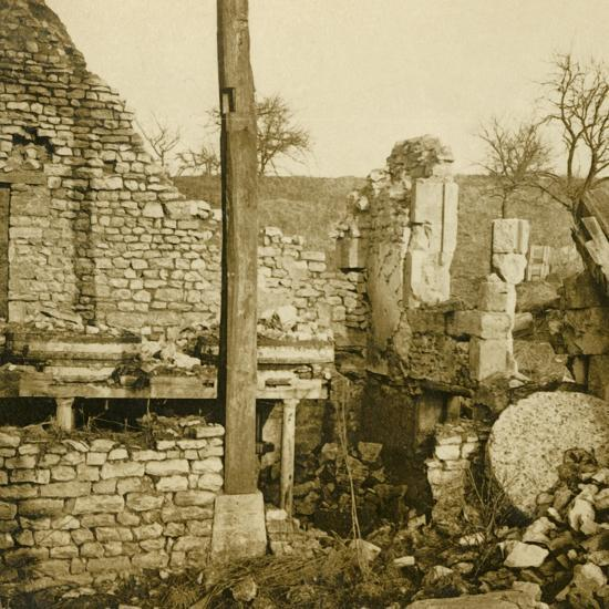 Mill at Les Éparges, northern France, c1914-c1918-Unknown-Photographic Print