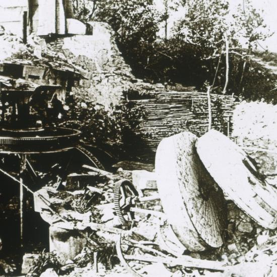 Mill at Woëvre, France, c1914-c1918-Unknown-Photographic Print