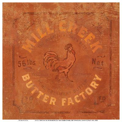 Mill Creek Butter-Eric Gillett-Art Print