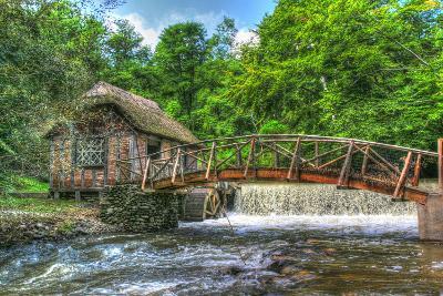 Mill House and Stream-Robert Goldwitz-Photographic Print
