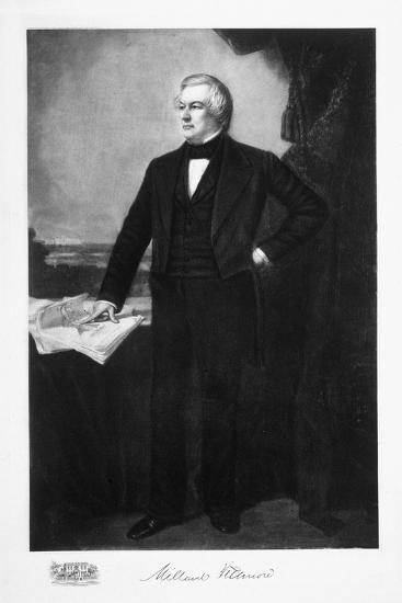 Millard Fillmore, 13th President of the United States of America, (1901)-Unknown-Giclee Print