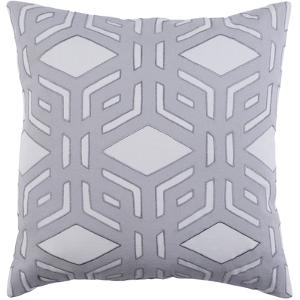 Millbrook Pillow Cover - Silver