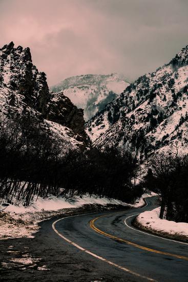 Millcreek Canyon Road-Lindsay Daniels-Photographic Print