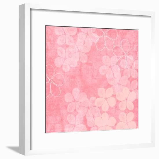 Millennial Pink II-Linda Woods-Framed Art Print