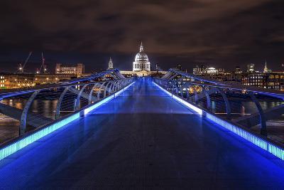 Millennium Bridge-Giuseppe Torre-Photographic Print
