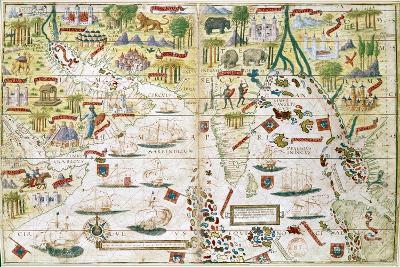 Miller Atlas, C1519--Giclee Print