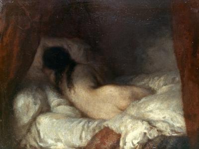 Millet: Reclining Nude-Jean-Fran?ois Millet-Giclee Print