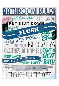 Bathroom Rules by Milli Villa
