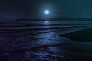 Beach Moon by Milli Villa