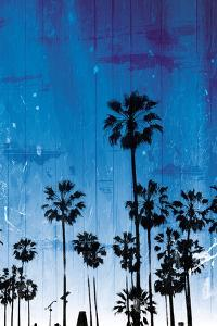 Palm Peach Night Blue by Milli Villa