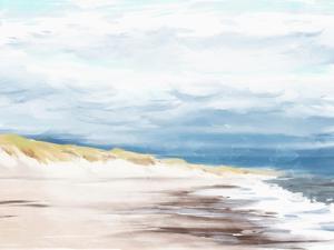 The Beach In Calm by Milli Villa
