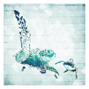 Turtles In The Sea by Milli Villa