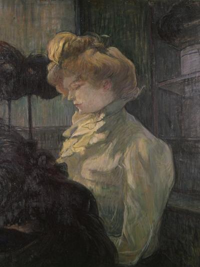 Milliner-Henri de Toulouse-Lautrec-Art Print