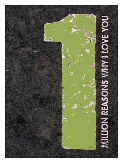 Million Reasons Why (Green)-Lisa Weedn-Giclee Print
