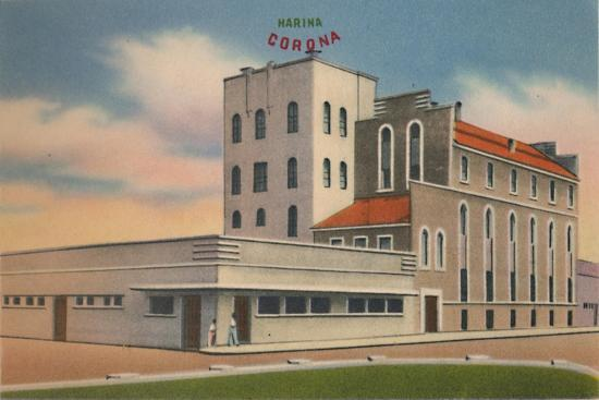 'Mills of Roncallo Hermanos & Co., S. A. Barranquilla', c1940s-Unknown-Giclee Print