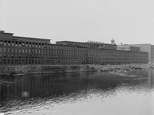 Mills on the Merrimack River, Lowell, Massachusetts, C.1908