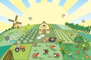 Farm by Milovelen