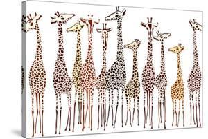 Giraffes by Milovelen