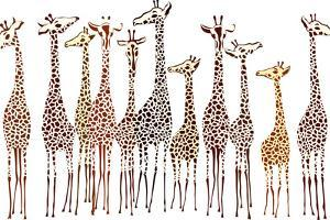 Giraffes by Milovelen