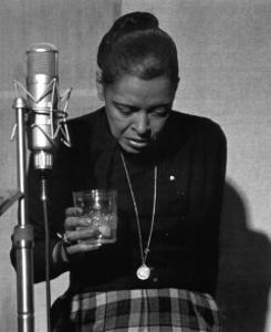 Billie Holiday, Last Recording Session by Milt Hinton