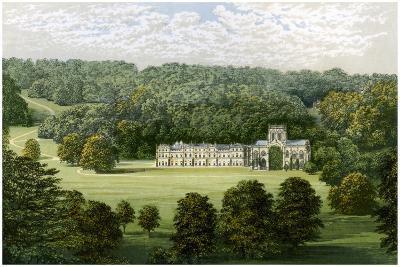 Milton Abbey, Dorset, Home of Baron Hambro, C1880-Benjamin Fawcett-Giclee Print