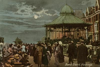 Band Stand, Hastings, Sussex, C1914