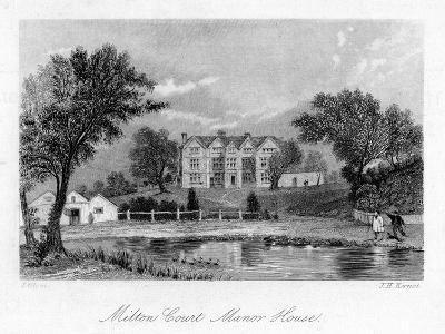 Milton Court Manor House, Surrey, 18th Century-JH Kernot-Giclee Print