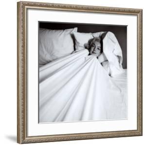 Marilyn in Bed by Milton H. Greene
