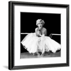 Marilyn Monroe - Ballet Dancer by Milton H. Greene