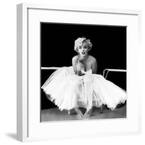 Marilyn Monroe - Ballet Dancer by Milton H^ Greene