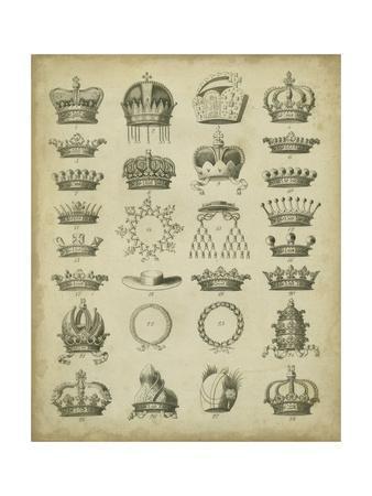 Heraldic Crowns & Coronets III