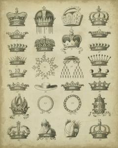 Heraldic Crowns & Coronets III by Milton