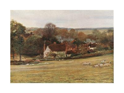 Milton's Cottage and Garden, Chalfont St Giles-Francis S. Walker-Giclee Print